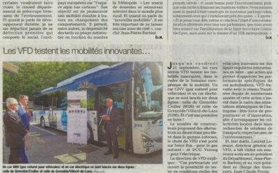 Semaine Européenne de la Mobilité, VFD teste les mobilités innovantes