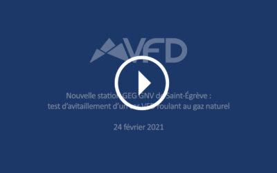 Ouverture prochaine d'une station GEG GNV à Saint-Égrève