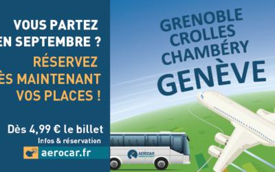 Les réservations ouvertes pour septembre sur la ligne AEROCAR