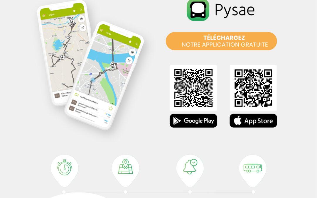 L'application PYSAE installée sur la ligne AEROCAR